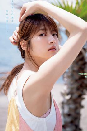 若月佑美さん、水着よりエロイ脇ペロ生足ぐうシコなグラビアを披露www【エロ画像】