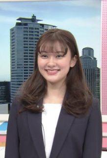 増田紗織アナ(22)の新人アナの着衣おっぱいがエロいww【エロ画像】