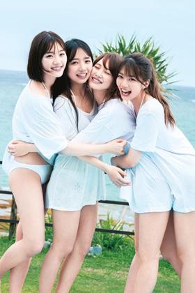 日向坂46メンバーの写真集の水着姿がエロいww【エロ画像】