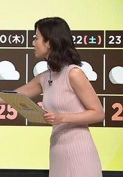 森川夕貴アナ(25)の着衣おっぱい・横乳が相変わらずけしからんww【エロ画像】