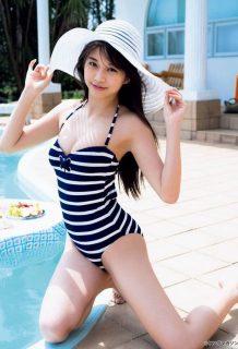 牧野真莉愛(18)の最新水着グラビアがエロいww【エロ画像】