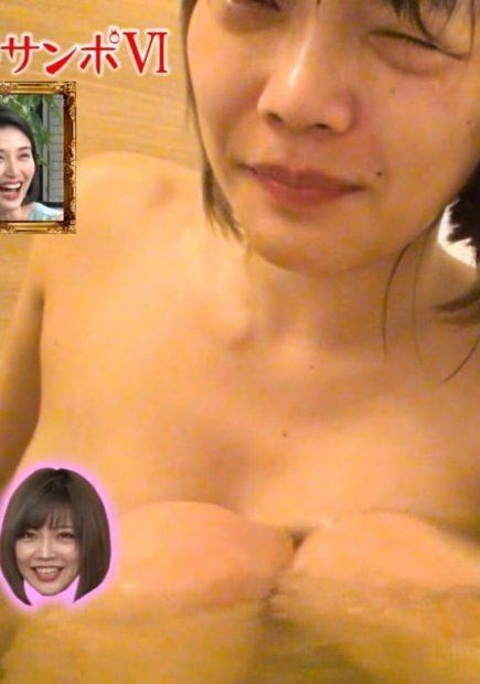 藤田恵名(28)のおっぱいポロリの放送事故がぐうシコww【エロ画像】