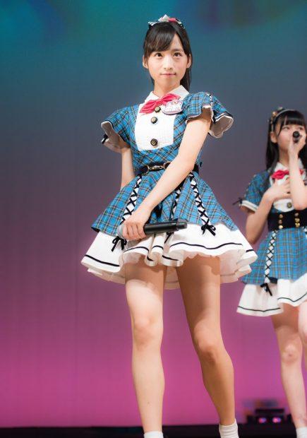 2万年に一人の美少女・AKB小栗有以(14)のスレンダー太ももがスベスベ!今話題のJCアイドルが可愛すぎる!