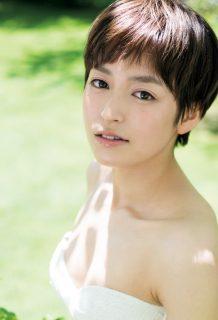亜海やまと(23)のショートカット美女の初水着グラビアがエロいww【エロ画像】