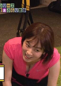筧美和子(25)のモヤさまの胸チラ谷間がぐうシコww【エロ画像】