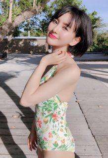 兒玉遥(22)の最新のインスタ水着姿がエロいww【エロ画像】