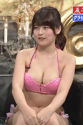 ちとせよしの(19)の有吉反省会の胸チラおっぱいがエロいww【エロ画像】