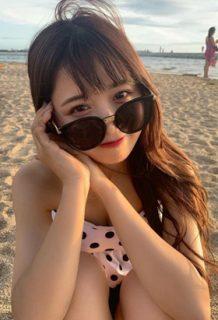 Kirari(19)とかいうインスタ美女の水着姿がエロいww【エロ画像】