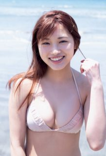 古田愛理(17)の現役JKの水着グラビアがムチムチでエロいww【エロ画像】