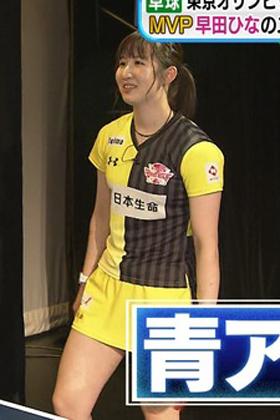 卓球女子の早田ひな(19)の生足太ももがエロいww【エロ画像】