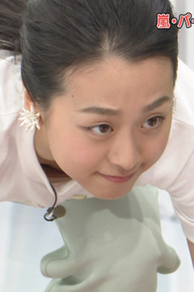 浅田真央(28)の24時間テレビでの際どい胸チラ放送事故がエロいww【エロ画像】