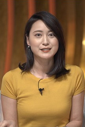 小川彩佳アナ(34)の着衣ニットおっぱいがエロいww【エロ画像】
