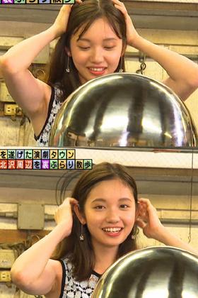 田中瞳アナ(22)のムッチリワンピに脇マンコがエロいww【エロ画像】