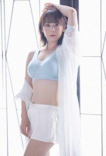 佐藤仁美(39)のライザップ後の下着モデル姿ww【エロ画像】