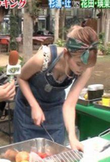 瑛茉ジャスミン(24)のぐるナイで見せた胸チラ谷間のおっぱいがエロいww【エロ画像】