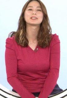 杉浦友紀アナ(36)の爆乳の乳揺れGIFがくっそエロいww【エロ画像】