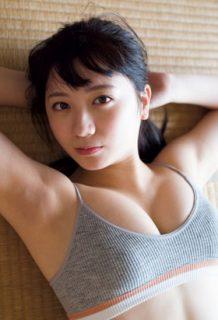 元AKB48高橋希来(18)の最新グラビアの巨乳がエロいww【エロ画像】