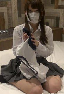 ブルマが似合う超美形JKとコスプレハメ撮り生ハメセックスww【エロ動画】