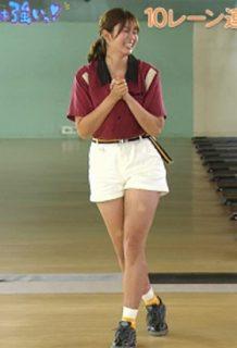 稲村亜美(23)の27時間TVで見せたボウリング姿がぐうシコww【エロ画像】