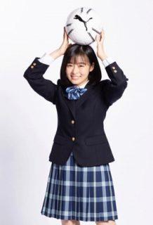 森七菜(18)のサッカー応援マネに就任した若手女優のおっぱいww【エロ画像】