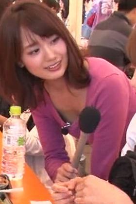 井上清華アナ(24)が乳揺れ・胸チラ披露!!!清楚なのにおっぱい祭りwww【エロ画像】