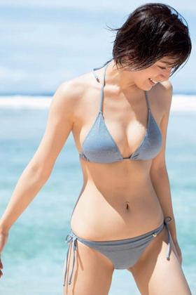 佐藤美希さん、くびれにFカップがけしからんエロボディがコチラwww【エロ画像】