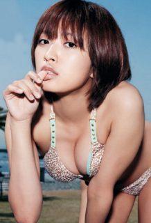 夏菜さん、結婚後のドスケベ下着グラビアのおっぱいがぐうシコwww【エロ画像】