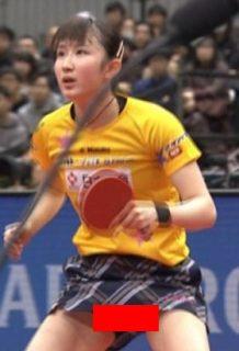 早田ひなさん、パンチラ卓球姿がピチピチ美肌でぐうシコwww【エロ画像】