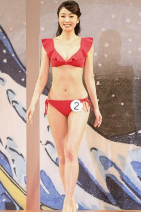 小田安珠「ミス日本コンテスト」のまんさんがクッソエロいwww【エロ画像】