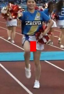 超肉食系女子アナの田中萌が熱愛!お宝パンチラがシコいwww【エロ画像】