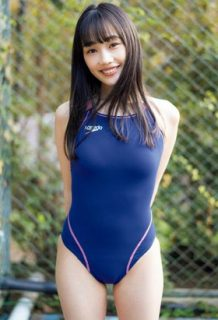 佐々木ありさ「いだてん出演女優」がリアル競泳水着姿を披露するwww【エロ画像