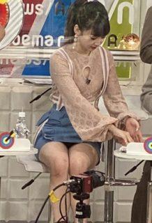 荻野由佳さん、超ミニスカでパンチラ大サービスをしてしまうwww【エロ画像】