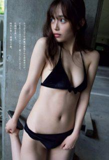 森日菜美さん、新人清楚女優の美乳・美尻が拝める水着グラビアがコチラwww【エロ画像】